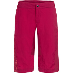 VAUDE Downieville Shorts Women crimson red